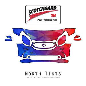 Smart fortwo 2018-2019 PreCut 3M Scotchgard Paint Protection Film Clear Bra PPF