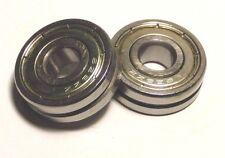 2pcs 8mm V628ZZ 8*24*8 V Groove Sealed Ball Bearings 0.315 inch vgroove bearing