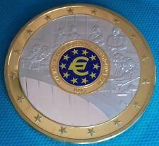 GROSSE PIÈCE DE MONNAIE EUROS GÉANT 1999