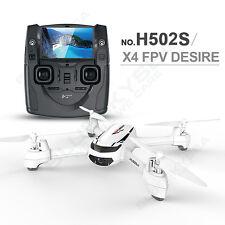 Hubsan X4 H502S FPV 720P Cam GPS Altitude One Key Return RTF RC Drone+Handbag CA