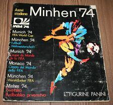 1974 PANINI MUNCHEN MUNICH 74 COMPLETE Sticker Album Original Yugoslavia Edition