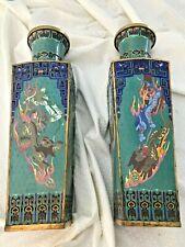 New ListingPair Of Chinese Cloisonne Vases circa 1820