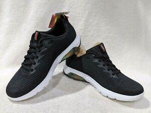 Skechers Women's GO Walk Air Whirl Black/White Sneakers-Asst Sizes NWB 124074