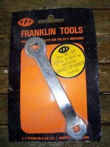 Brake Spanner - 1/4in. sq. x 5/16in. sq. Franklin universal brake spanner