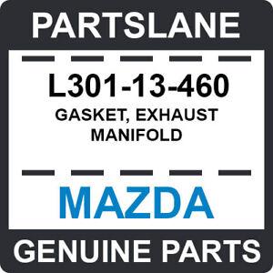 L301-13-460 Mazda OEM Genuine GASKET, EXHAUST MANIFOLD