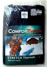 Nwt! Duofold ComforTherm 100% Cotton Heavyweight Insulating Stretch Thermal Xl