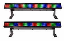 "(2) Chauvet Colorstrip Mini 19"" DMX RGB LED Pro DJ Stage Wash Bar Light Effects"