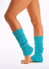 Ladies Leg Warmers Plain Luxury Soft Thick Knit Legwarmers Long Cosy Legwarmer