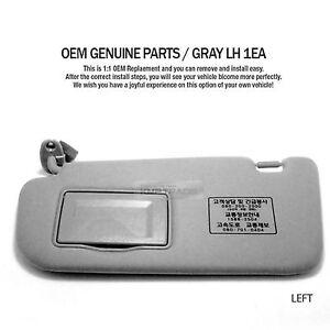 OEM Interior Hand Sun Visor Shade Guard LH Gray for KIA 2006 - 2010 Optima Lotze