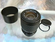 SIGMA 70-210MM F4-5.6 LENS TELEPHOTO PENTAX KA / PKA W/LENS HOOD & FILTER *MINT-