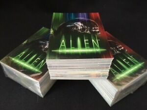 Alien Legacy Trading cards COMPLETE SET of 90 base card 1 -90 - Inkworks