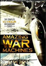 Amazing War Machines. 3 DVD Weapon Doco Box. In Shrink!