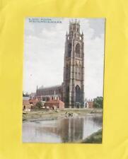 BOSTON  ,   ST  BOTOLPH'S  CHURCH  -   LINCOLN  ( Ma 8 )