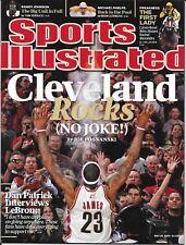 Sports Illustrated 2009 LeBRON JAMES Cleveland ROCKS Cavaliers MINT! No Label