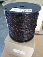 5.5 x 50 ft Starter crank rope solid braid nylon Made N USA  5.5 x 50 ft
