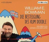JÜRGEN VON DER LIPPE - WILLIAM E. BOWMAN:DIE BESTEIGUNG DES RUM DOODLE 4 CD NEU