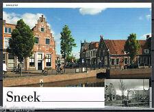 Nederland Voorgefrankeerde ansichtkaart Sneek Hoogend - Postcard