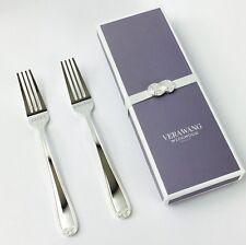 Vera Wang Infinity mangiare la torta incisa FORCHETTE regalo di nozze-NUOVO