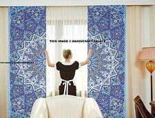 Indian Star Mandala Cotton Curtain Tapestry Wall Hanging Handmade Valances Decor