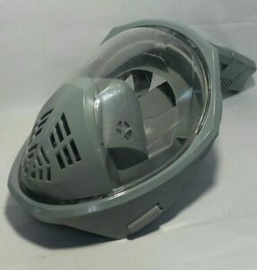 Full Face Snorkel Mask, Protective,  Easy Breathing, Diving Mask, L/XL