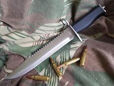 "MASSIVE 15"", 38cm CROCODILE DUNDEE HUNTING KNIFE – FREE POSTAGE! <7757>"