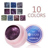 UR SUGAR 5ml 5D Magnetic Cat Eye Soak Off UV Gel Polish Glitter Nail Gel Varnish