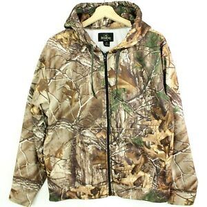 RedHead Mens Camo Hunting Jacket Hoodie size M Full Zip