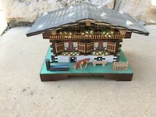 MASPA Swiss Music Cottage with Fur Elise - Music Box