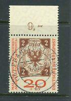 BRD Mi-Nr. 311b Oberrand - zentrisch - Vollstempel -Frankfurt - Gummierung