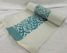 "Japanese Kimono Obi Cloth Fabric Roll 17' long 11.5"" wide Runner Sash Hanger"