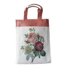 Rose Flower Floral Retro Print Handbag Lunch bag