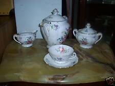 Porcelain Limoges teaset tea set - early 20 C