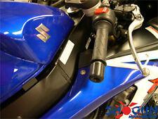 SHOGUN 2001-16 GSXR600 / GSXR750 / GSXR1000 GSXR BAR END SLIDERS - BLACK