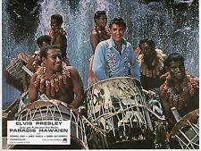 ELVIS PRESLEY HAWAIIAN STYLE PARADIS HAWAIEN 1966 PHOTO VINTAGE LOBBY CARD N°6