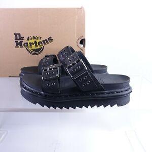 Size 8 Women's Dr. Martens Myles HDW Slide Sandals 25447001 Black