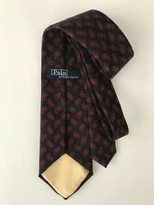 """POLO WOOL TIE.NEW.57X3.5"""" WIDE.ITALY."""