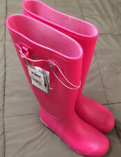 Itasca PVC Women's Pink Boots Brand New Tractor Supply Size 6