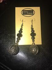 Crystal earrings dangle