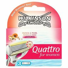 Wilkinson Sword Quattro for Women Razor Blades - 7004143V