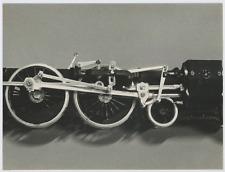 Modèles réduits, années 60 Vintage print,   Tirage argentique  18x24  Ci