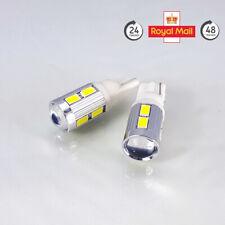 W5W T10 501 LED SMD + cree () Cuña Bombillas de coche 2 un. 12m Reino Unido Garantía! oferta!