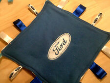 embroidered ford or holden   boy or girl  taggie blankets