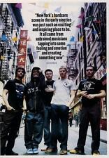 Glassjaw UK 'Guitarist' Interview Clipping