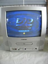 "Magnavox MSD513E Vintage Gaming 13"" Television TV w/ DVD Player with 2 Remotes"