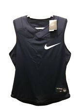 Nike Vapor Speed Navy Integrated Padded Football Top Shirt 835345-419 Size L
