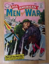 ALL-AMERICAN MEN OF WAR #57 1958 FN NICE EASY CO. PRE SGT.ROCK HEATH 4 STORIES