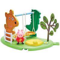Peppa Pig di Uso Esterno Divertimento Swing Giocattolo Con Articolata Figura 3+