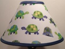 Turtles Fabric Nursery Lamp Shade M2M Pottery Barn Kids Bedding Free Shipping