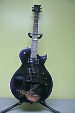 Jimi Hendrix Collectable Guitar ESP EC-50 Purple Haze Design  6 string Purple