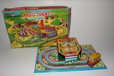 1960's TPS Made in Japan Dreamland Bus with Magic Tunnel, Boxed #1